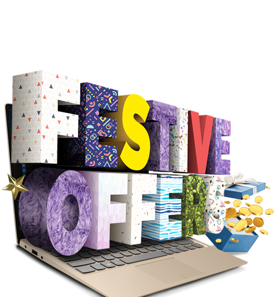 REWARD YOURSELF THIS HOLIDAY SEASON WITH LENOVO'S FESTIVE OFFERS