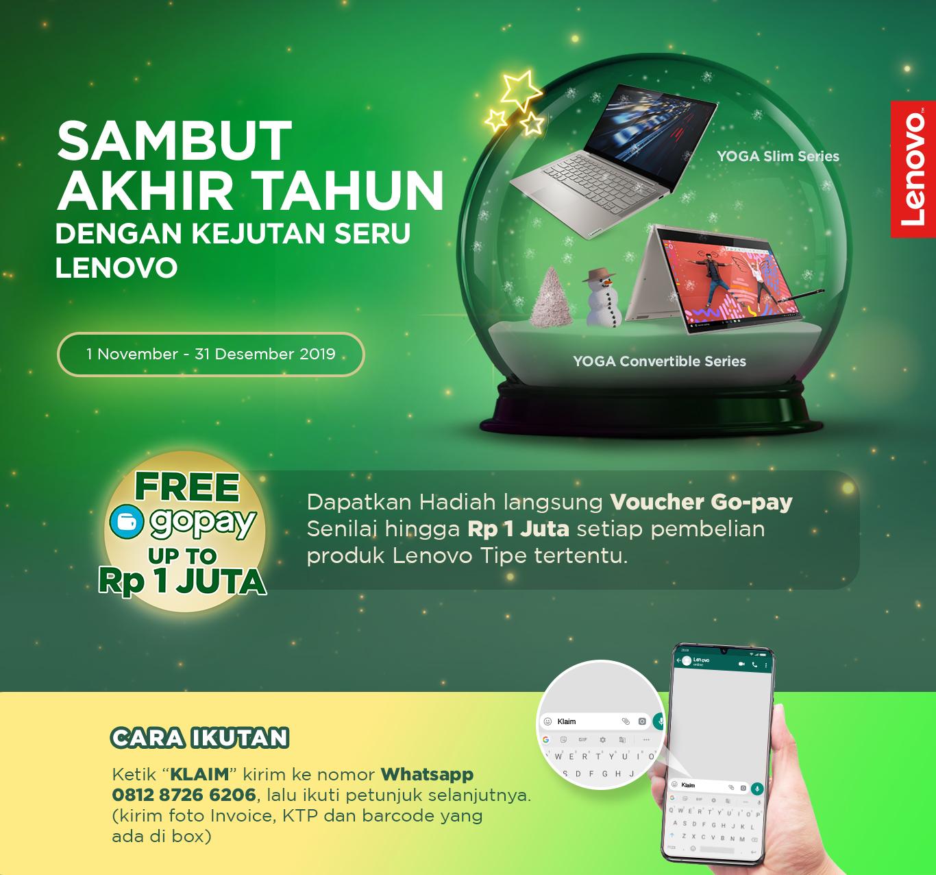 Lenovo End Year Promo Lenovo Indonesia
