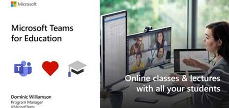 Microsoft Teams untuk Webinar Pendidikan