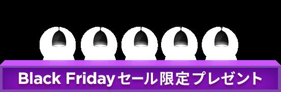 BLACK FRIDAYセール限定プレゼント