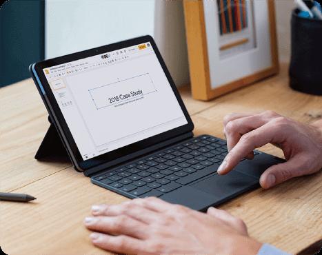 Chromebook で仕事