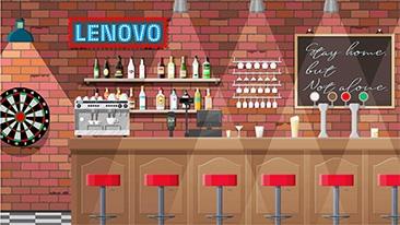 Lenovo バーチャル背景