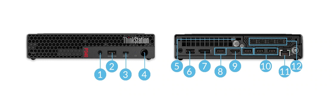 ThinkStation P340 Tiny