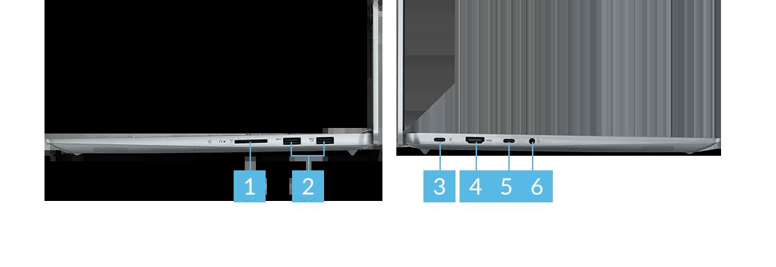 IdeaPad Slim 560 Pro(16) UMAモデル ports
