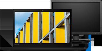 ThinkPad T490 + Monitor 19.5