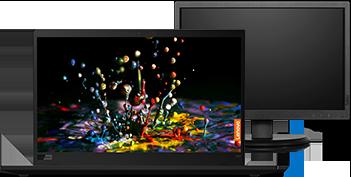 ThinkPad X1 Carbon 7° Gen + Monitor 19.5''