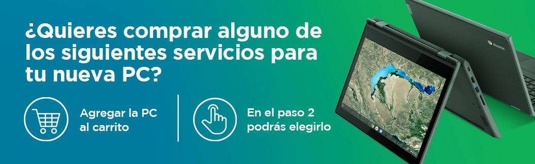Servicios para Chromebook