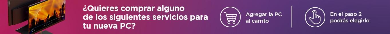 Servicios para desktops & all in one Lenovo