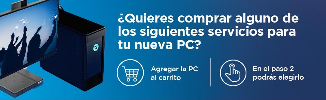 Servicios para Desktops & All in One IdeaCentre & Legion