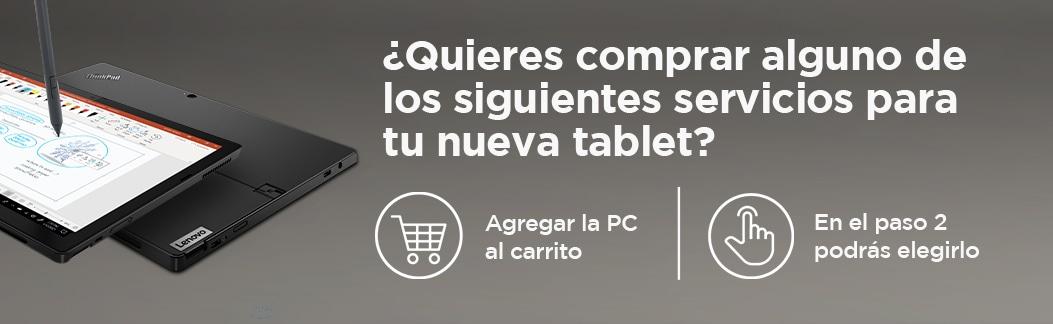 Servicios para tablets Think