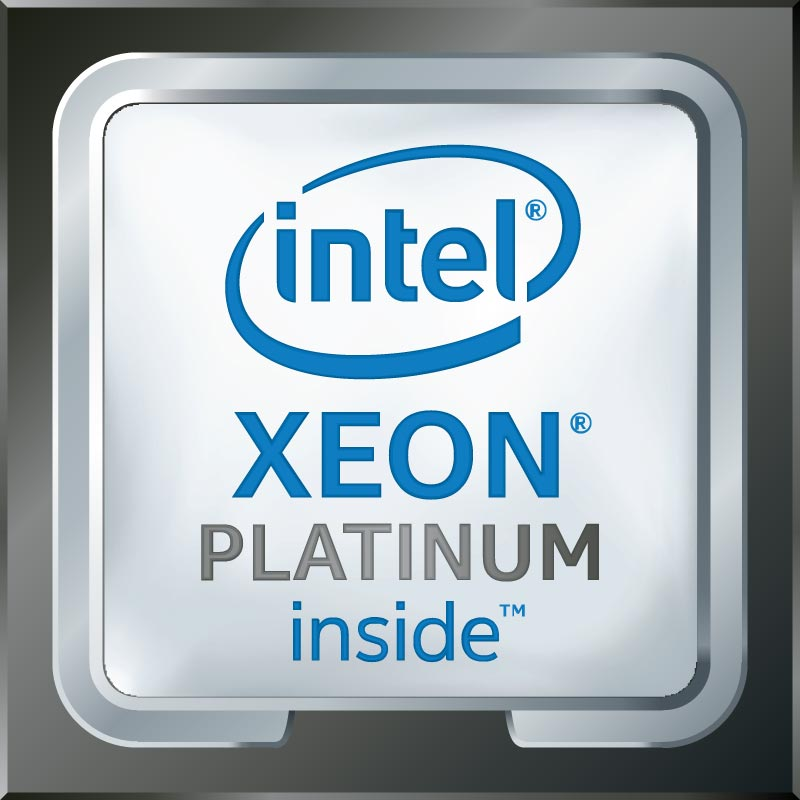 Processore Platinum <br/>Intel® Xeon®