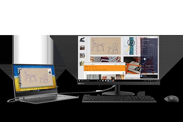 """Lenovo full-HD 27"""" USB-C Monitor: L27m-28"""