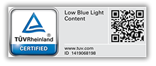 Low Blue light certification