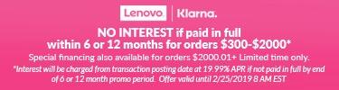 Valentines Day Klarna offer