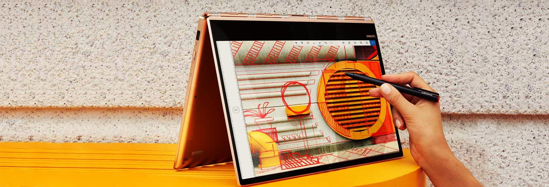 Zdjęcie Lenovo Yoga920 na potrzebę prezentacji
