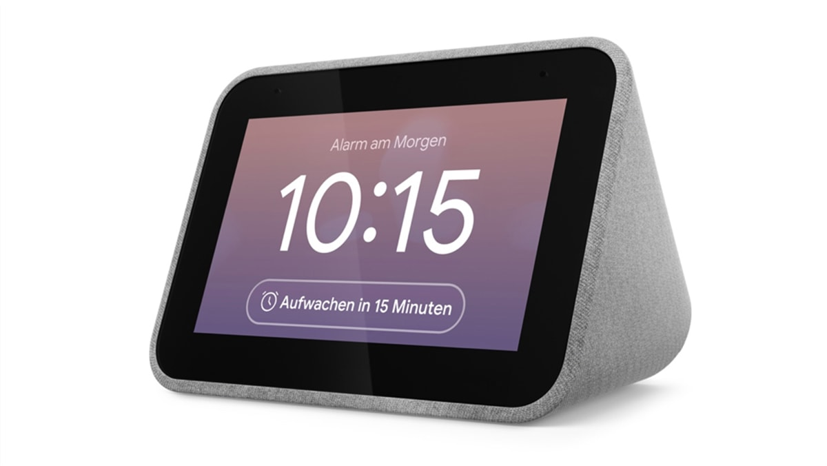 lenovo-smart-clock-gallery04_Smart_Mini_Hero_Front_Facing_Dismiss-Snooze-Alarm_Gentalewake