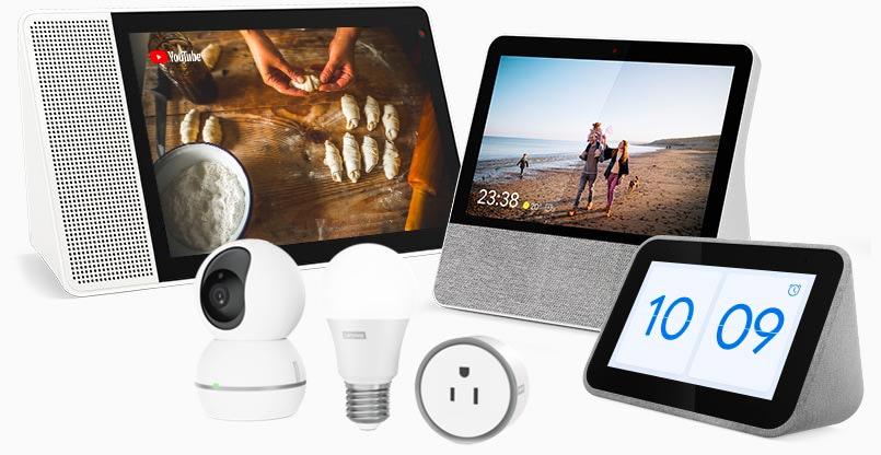 Richten Sie Ihr Zuhause mit den Produkten der Lenovo Smart Home Essentials-Reihe ein