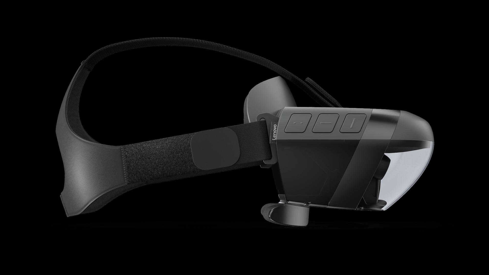 Mirage Headset Tour Left Side Profile