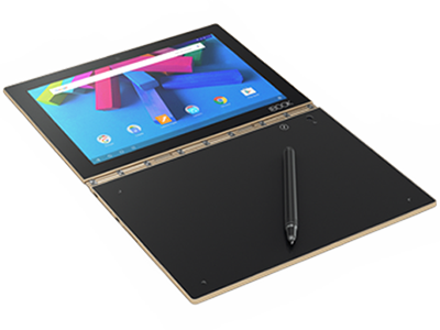 Lenovo Yoga Book met Android