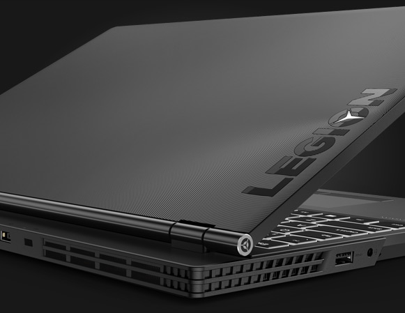 Lenovo Legion Y530 gaming laptop, ¾ rear view