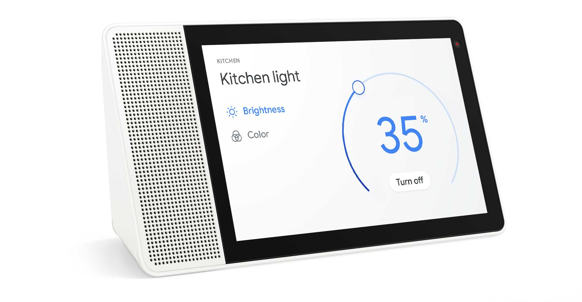 Hey Google, dim the kitchen lights