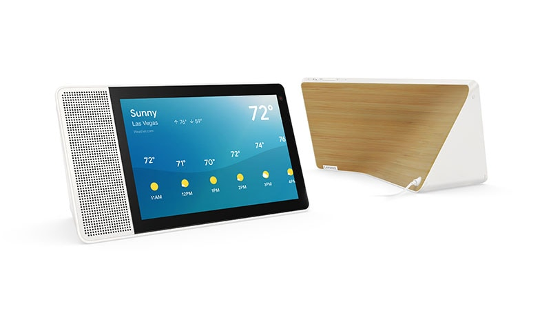 Lenovo Launches Smart Display with Google Assistant to take down Amazon Echo Show....