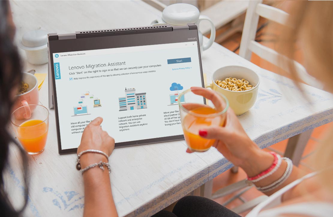 Lenovo Migration Assistant is gratis voor alle Lenovo-klanten
