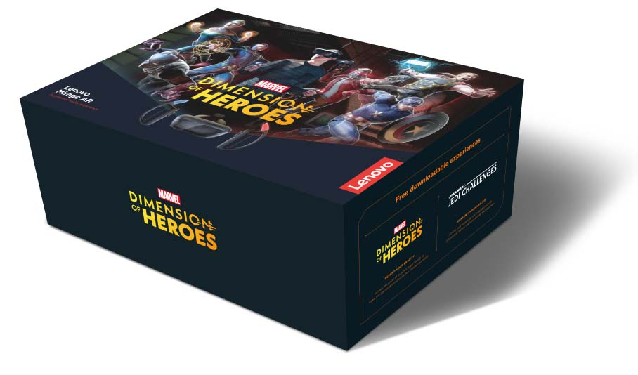 Lenovo Mirage AR avec MARVEL dimension of Heroes