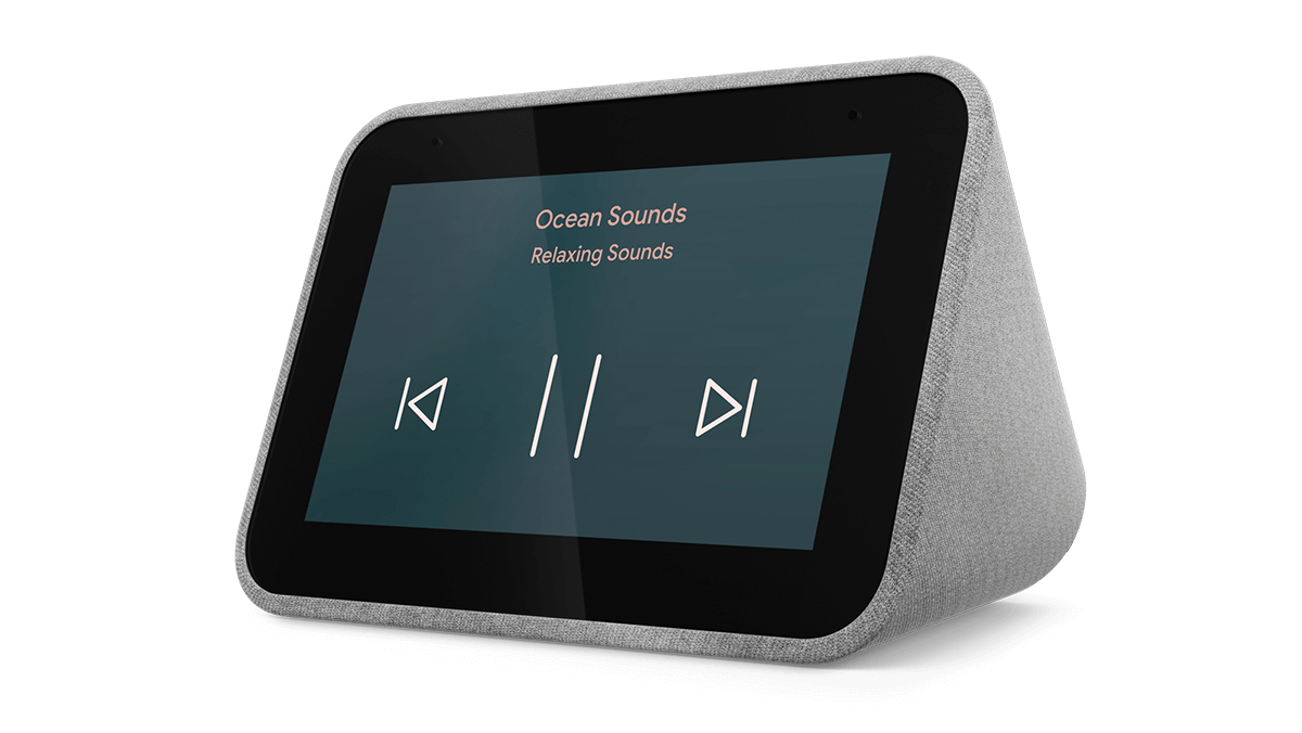 Lenovo-Smart-Clock-gallery01_Smart_Mini_Hero_Front_facing_Play_Ocean_Sounds