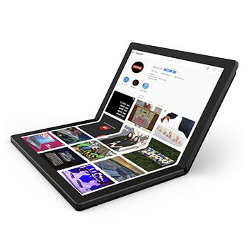2019 ThinkPad представляє перший у світі ноутбук, що складається