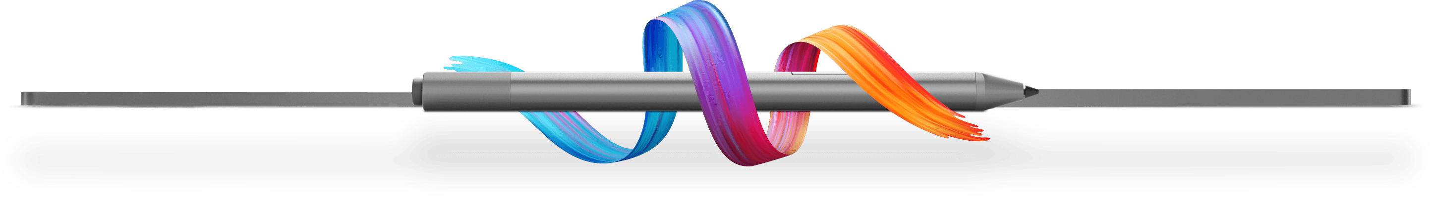 Lenovo Yoga Pen Wrapped in Colorful Ribbon