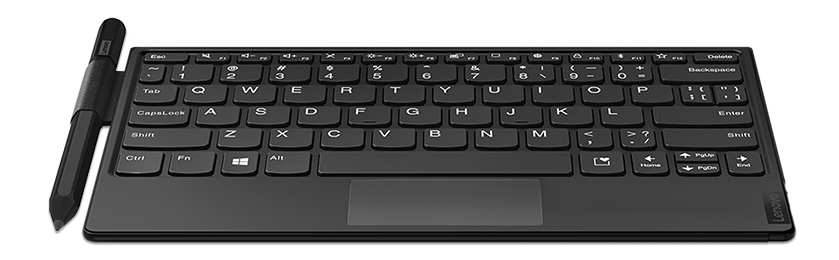 Lenovo Fold Mini Keyboard and monitor