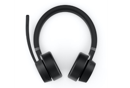 Lenovo Go Wireless active noise-cancelling headset, Front view
