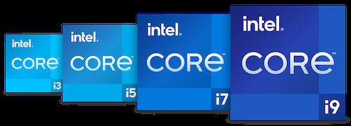 Intel 11th gen family logo