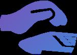 Наушники без шумовых помех (значок)