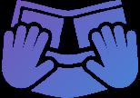 Наушники с качеством связи мирового класса (значок)