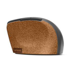 Lenovo Go Wireless Vertical Mouse left side view