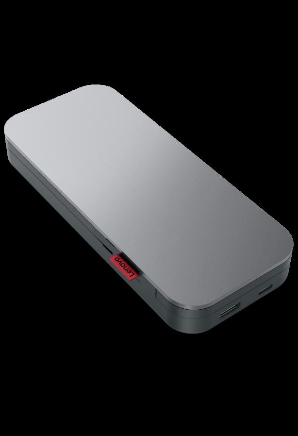 Портативний акумулятор для ноутбуків Lenovo Go USB-C (20000 мАг), вигляд спереду