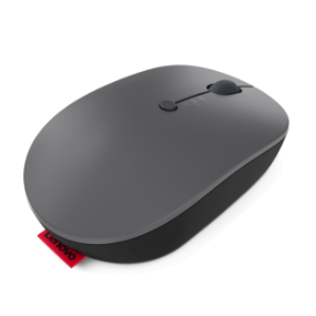 Lenovo Go Wireless Multi-Device Mouse rear view angled to the right