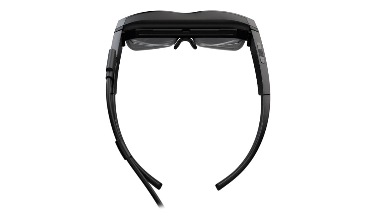 Lenovo ThinkReality A3 smart glasses – top view
