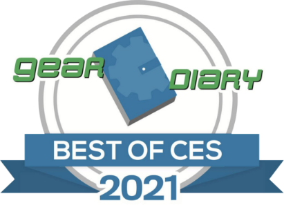 Gear Diary Best of CES 2021 award ThinkReality A3 won