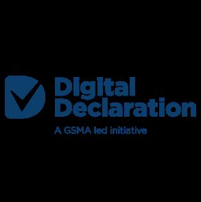 Logotipo de la Declaración Digital de la GSMA