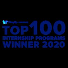 Top 100 Internship programs winner 2020