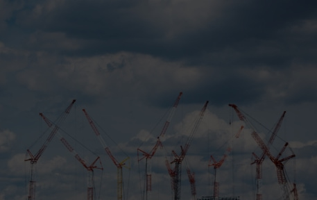 multiple tower cranes working