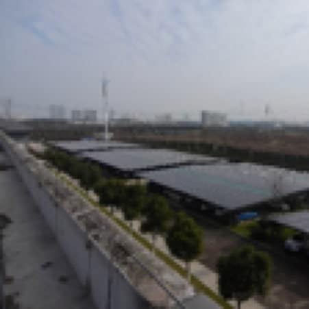 Photovoltaic panels in Hefei, China
