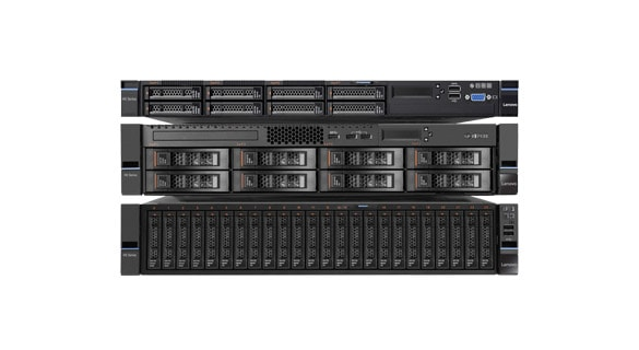 Server Lenovo ThinkSystem, stack