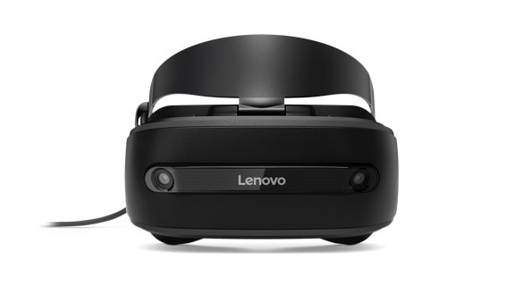 Lenovo Explorer Mixed Reality headset front view