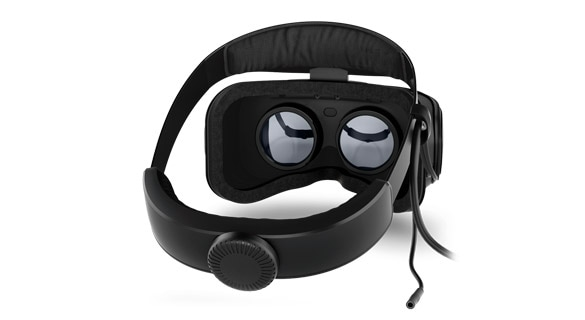 Lenovo Explorer Mixed Reality headset rear view