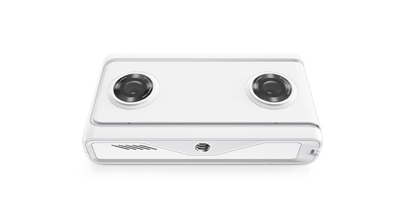 Lenovo Mirage Camera front angle view
