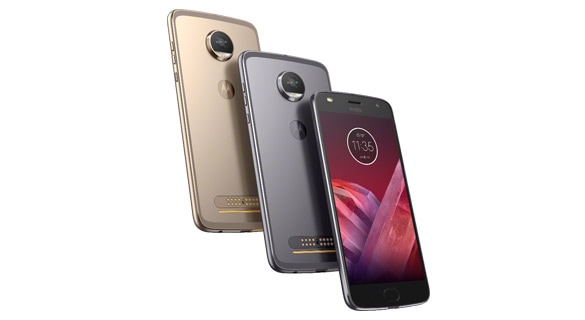moto z2 play smartphone in multiple colors
